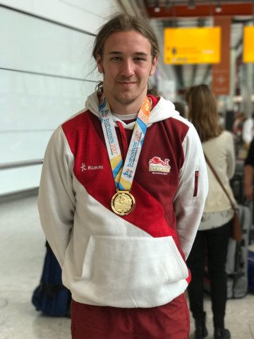Gold medal for Watford UTC student at 2017 Commonwealth Youth Games