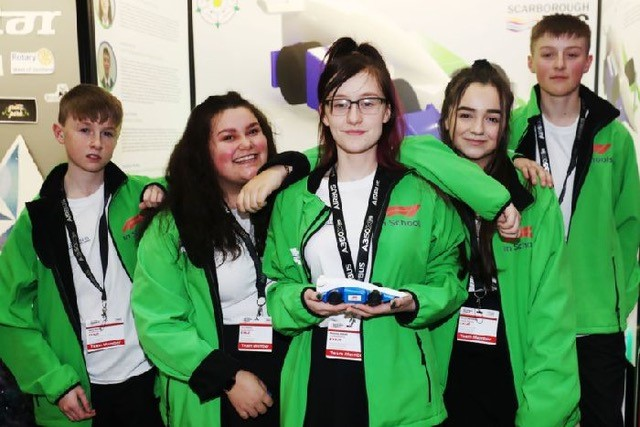 Scarborough UTC team win place at World F1 in Schools Finals in Abu Dhabi after UK Finals triumph